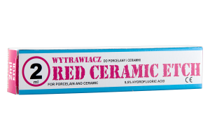 Red Ceramic Etch 2 ml