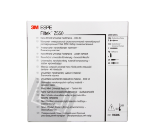 Filtek Z 550 zestaw ( 8 x 4g + Adper Single Bond)